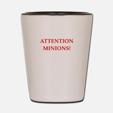 attention! Shot Glass