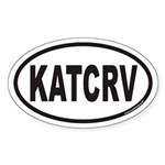 KATCRV Euro Oval Sticker