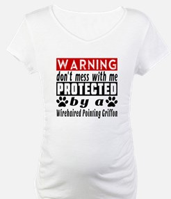 Protected By Wirehaired Pointing Shirt