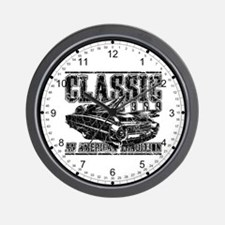 Classic 1959 Caddy Wall Clock
