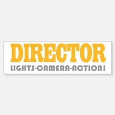 Cute Director Bumper Bumper Bumper Sticker