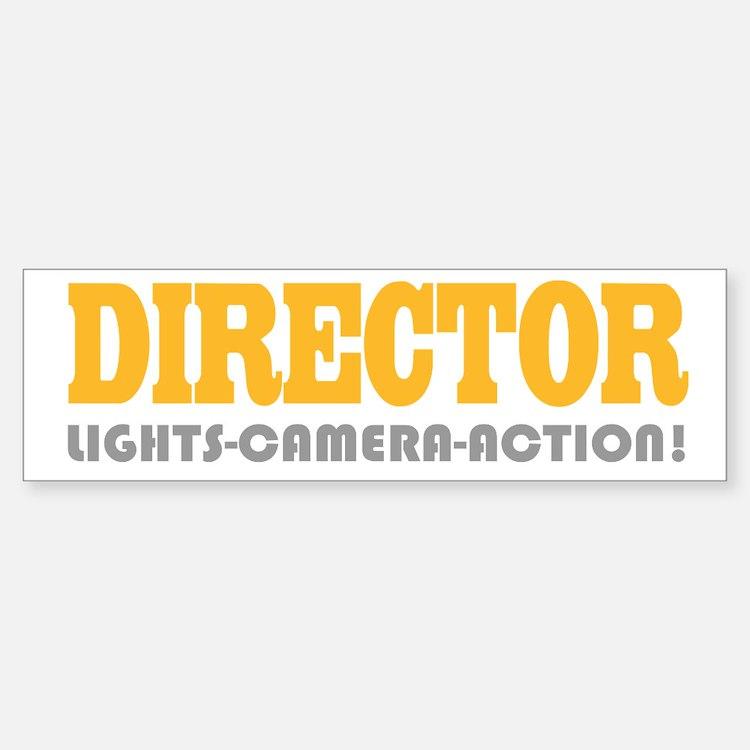 Cute Director Bumper Bumper Bumper Sticker