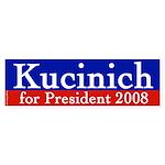 Kucinich for President bumper sticker
