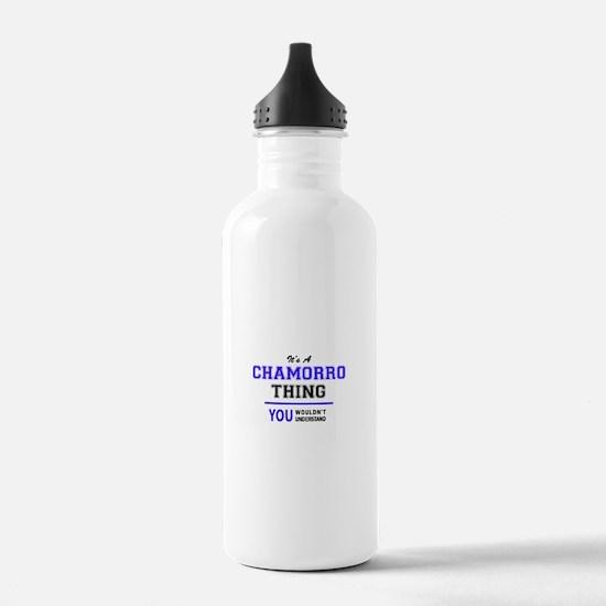 It's CHAMORRO thing, y Water Bottle