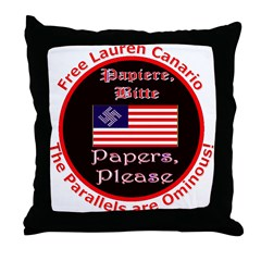 Free Lauren-2 Throw Pillow