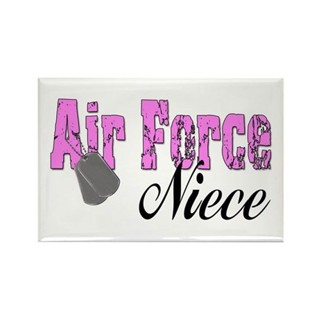 Air Force Niece Rectangle Magnet