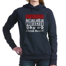 Protected By Tibetan Mas Women's Hooded Sweatshirt