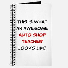 awesome auto shop teacher Journal