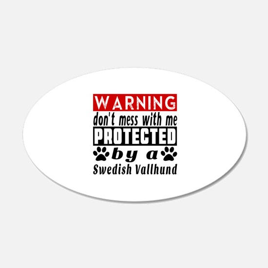 Protected By Swedish Vallhun Wall Decal