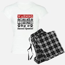 Protected By Sussex Spaniel Pajamas