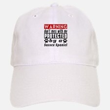 Protected By Sussex Spaniel Baseball Baseball Cap