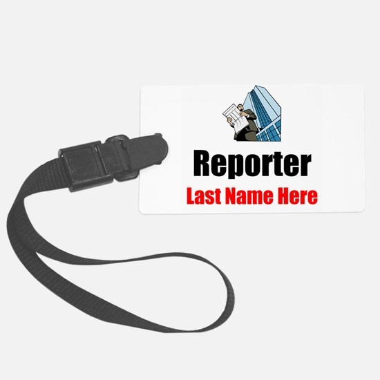 Reporter Luggage Tag