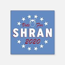 Vote For Shran Star Trek Sticker