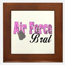 Air Force Brat ver1 Framed Tile