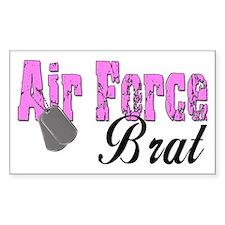 Air Force Brat ver1 Rectangle Decal