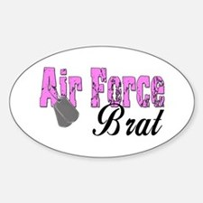 Air Force Brat ver1 Oval Decal