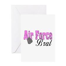 Air Force Brat ver1 Greeting Card