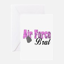 Air Force Brat ver1 Greeting Card