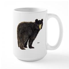 Black Bear Large Mug