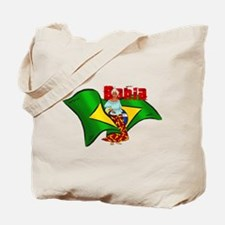 Bahia Brazil Flag Tote Bag