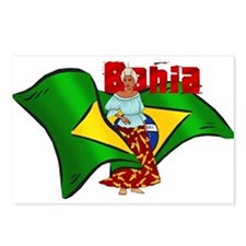 Bahia Brazil Flag Postcards (Package of 8)