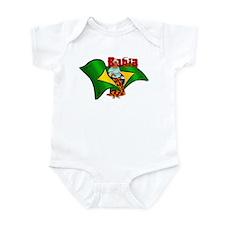 Bahia Brazil Flag Infant Bodysuit