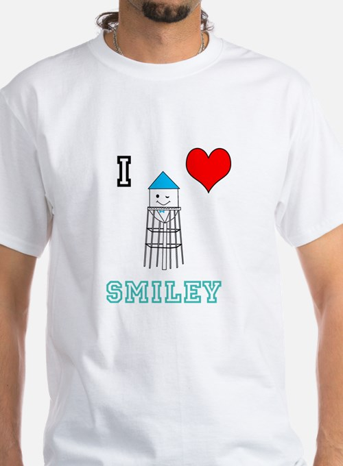 Smiley water tower T-Shirt