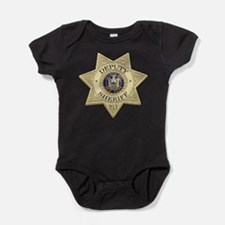 Cute New york police Baby Bodysuit
