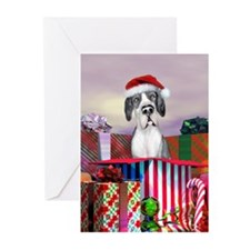 Mantle UC Dane Claus Greeting Cards (Pk of 10)