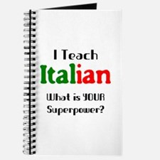 teach italian Journal
