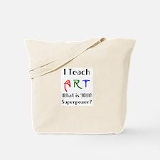 teach art Tote Bag