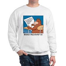 Beaver Philosophy 101 Sweatshirt