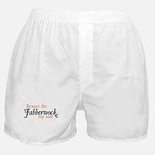 Beware the Jabberwock Boxer Shorts