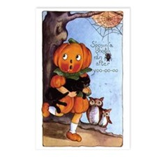 Halloween 35 Postcards (Package of 8)