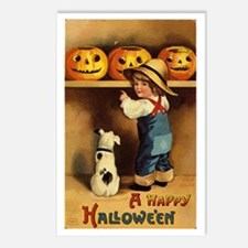 Halloween 36 Postcards (Package of 8)