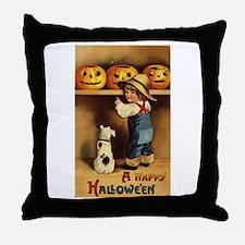 Halloween 36 Throw Pillow