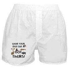Wear Own Skin Variety Boxer Shorts