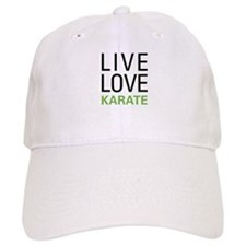 Live Love Karate Baseball Cap