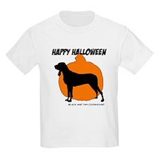 Black and Tan Halloween T-Shirt