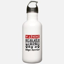 Protected By Skye Terr Sports Water Bottle