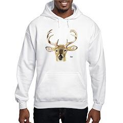 Deer Antler (Front) Hoodie