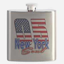 05 New York Soul Birthday Designs Flask