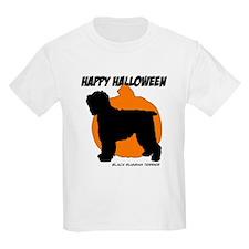 Blk Russian Terrier Halloween T-Shirt