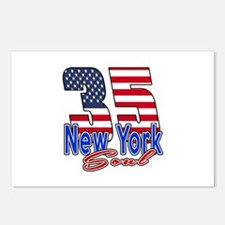 35 New York Soul Birthday Postcards (Package of 8)