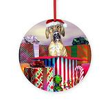 Great dane dog Ornaments