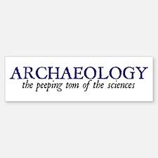 Archaeology: The Peeping Tom Bumper Bumper Bumper Sticker