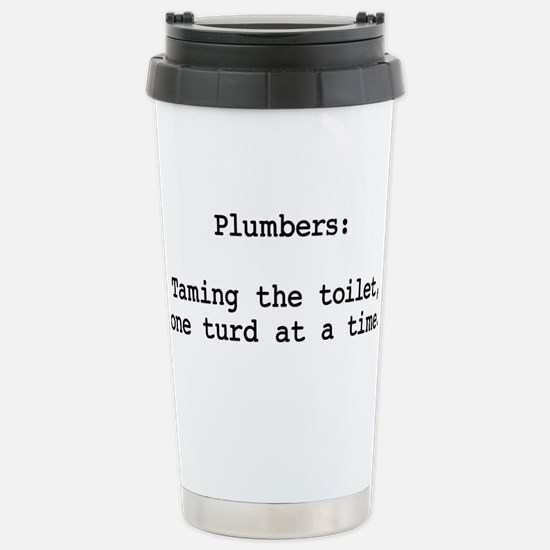 Turd Taming Plumber Mugs
