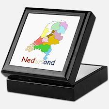 Unique Netherlands Keepsake Box