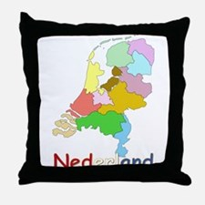 Unique Netherlands Throw Pillow
