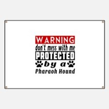 Protected By Pharaoh Hound Banner
